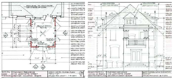 Design Exteriors architectural drawings